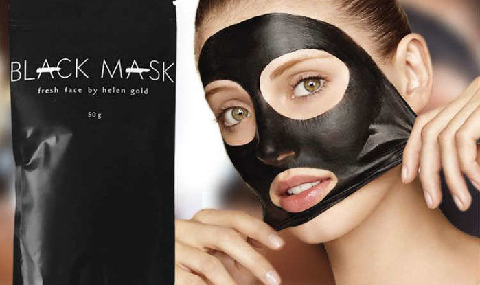 черная маска рецепт с молоком