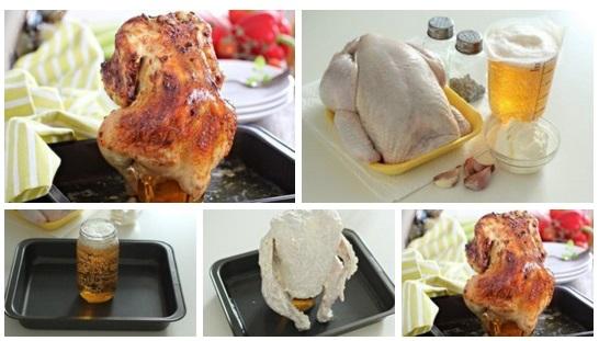 Курица запеченная в банке рецепт