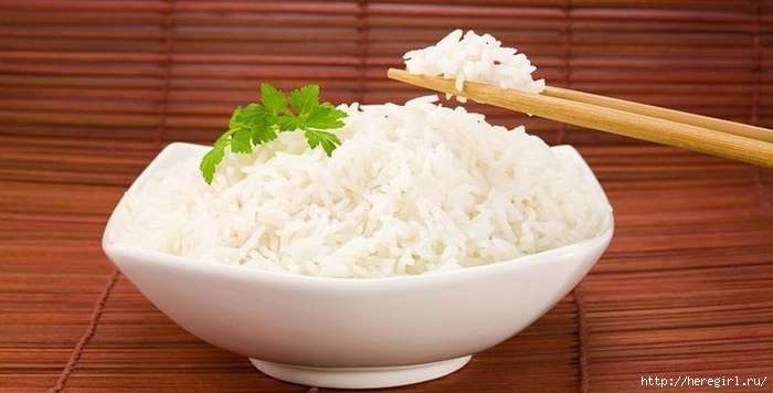 Трехдневная рисовая диета - минус пара килограмм