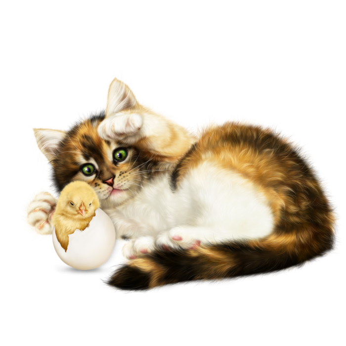 6090083_easter_kitten_with_a_chick3 (700x700, 377Kb)