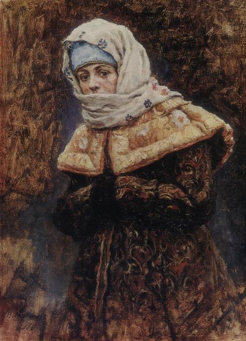Суриков Василий Иванович - Боярышня. (506x700, 328Kb)