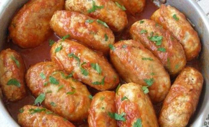 Котлеты с кабачком и фаршем пошаговый рецепт