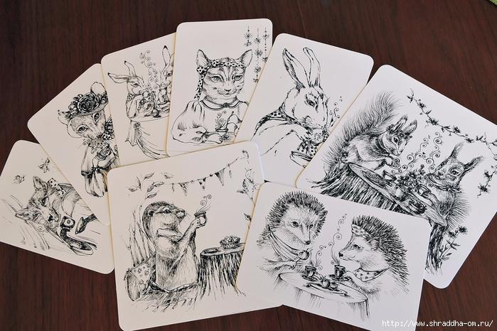 открытки ЧАЕПИТИЕ от Shraddha, shraddhaart (2) (700x466, 307Kb)