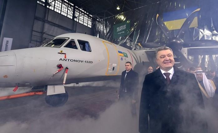 Новейший украинский самолет Ан 132D успешно совершил свой первый полет