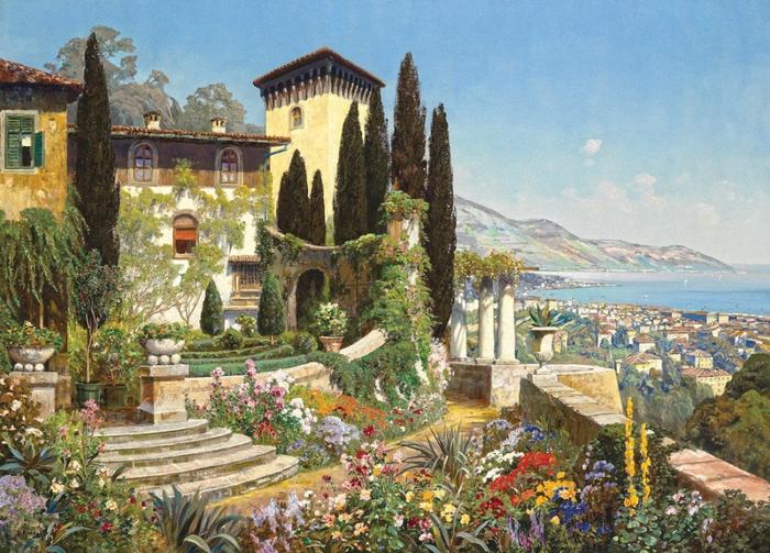 художник Alois Arnegger 7 (700x503, 477Kb)