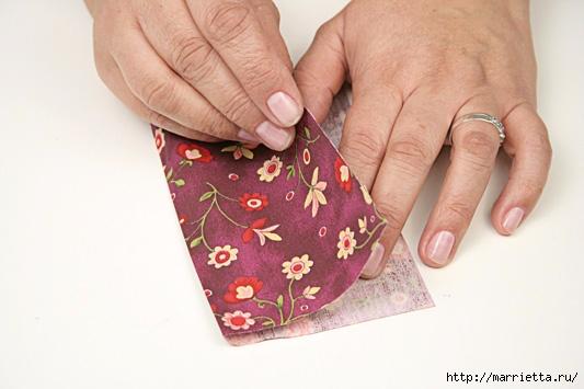 Шьем сами кошелек из лоскутков. Фото мастер-класс (9) (533x355, 121Kb)