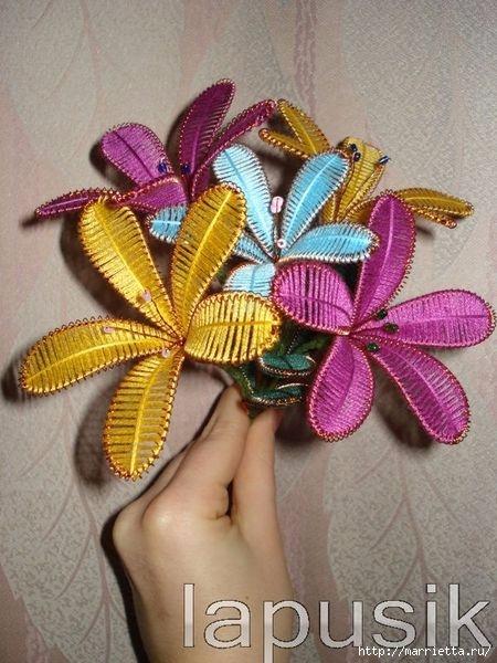 Мастер-класс. Цветы ганутель (24) (450x600, 184Kb)