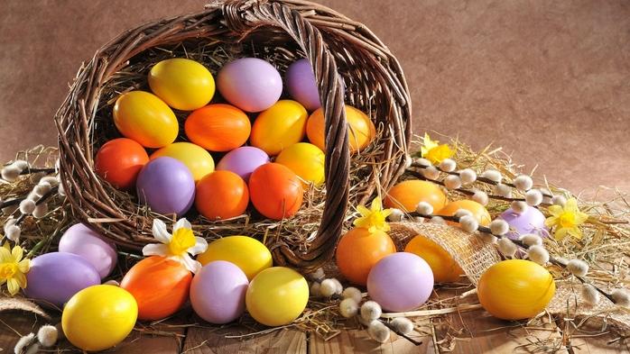 Скоро Пасха. Идеи для раскраски яиц