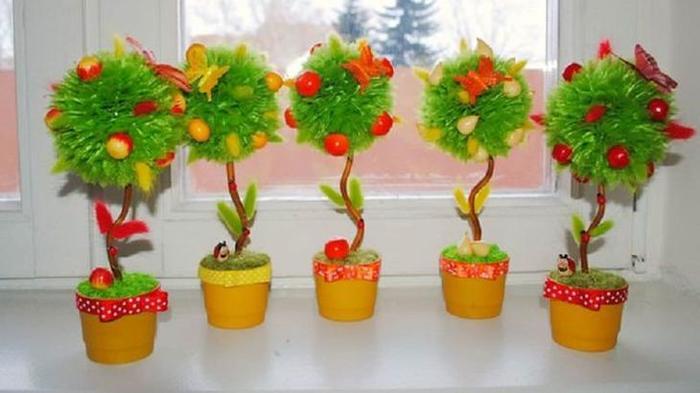 Сделать фруктовое дерево своими руками
