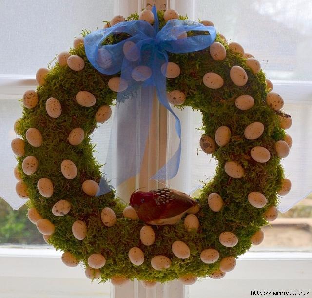 Пасхальные венки и декоративные шары из мха (9) (640x611, 295Kb)