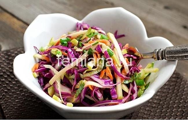 Сделать салат из капусты с