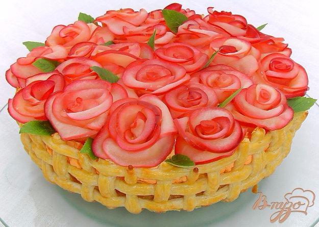 «Миллион алых роз» - торт с яблочными розами (5) (625x445, 294Kb)