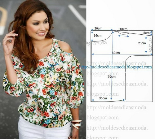 блуза (500x449, 92Kb)