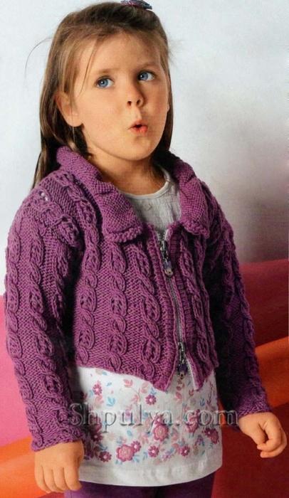 Вязание для девочек спицами самое интересное в блогах