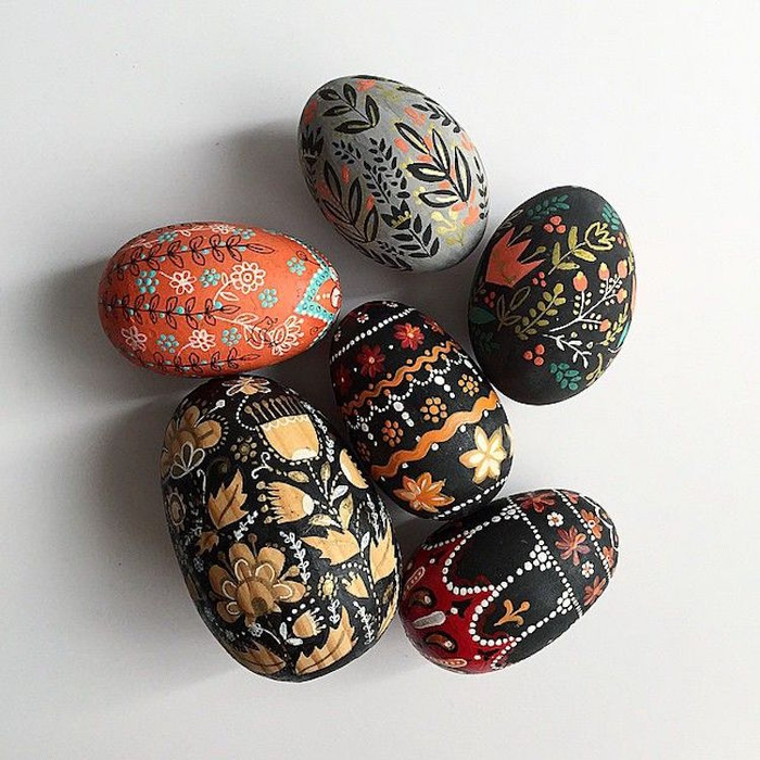 пасхальная роспись яиц фото 6 (700x700, 445Kb)
