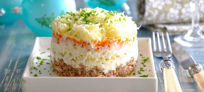 Салат мімоза інгредієнти