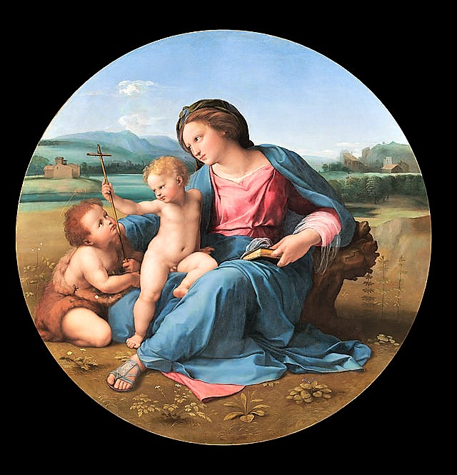 Raphael  -  The  Alba  Madonna (640x666, 127Kb)