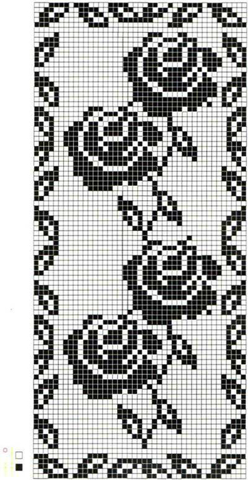 钩针图案:玫瑰 - maomao - 我随心动