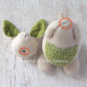 КЕНГУРУ с кенгуренком - изумительные игрушки из носков и фетра (35) (300x300, 78Kb)