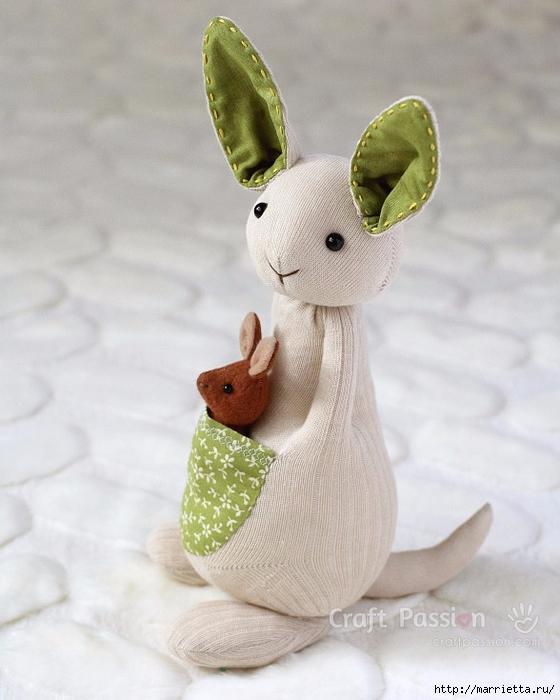 Kanguru ile Kanguru - çorap ve keçe inanılmaz oyuncaklar (41) (560x700, 237KB)
