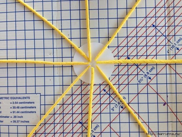 Декоративное пасхальное яйцо из проволоки и гофрированной бумаги (4) (640x480, 249Kb)