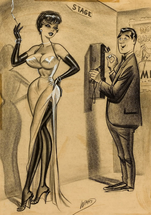 illustrations by Bill Ward3аа (491x700, 406Kb)