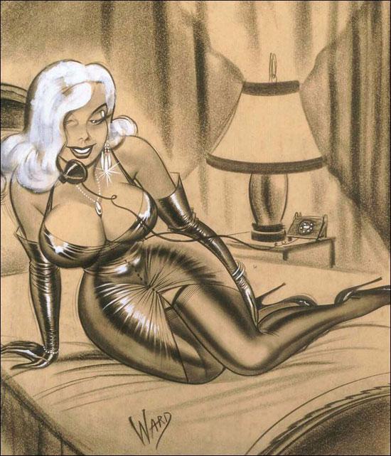 illustrations by Bill Ward4 (550x641, 311Kb)