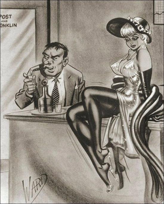 illustrations by Bill Ward9а (550x684, 268Kb)