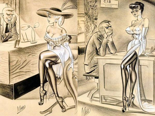 illustrations by Bill Ward10 (600x447, 297Kb)