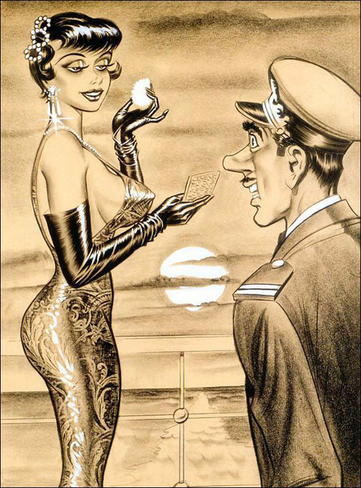 illustrations by Bill Ward11ааа (518x700, 465Kb)