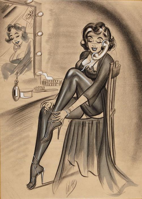 illustrations by Bill Ward11у (501x700, 382Kb)