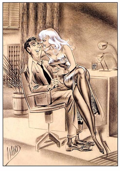 illustrations by Bill Ward13 (493x700, 439Kb)