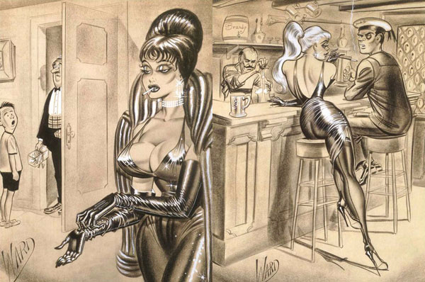 illustrations by Bill Ward14 (600x398, 230Kb)