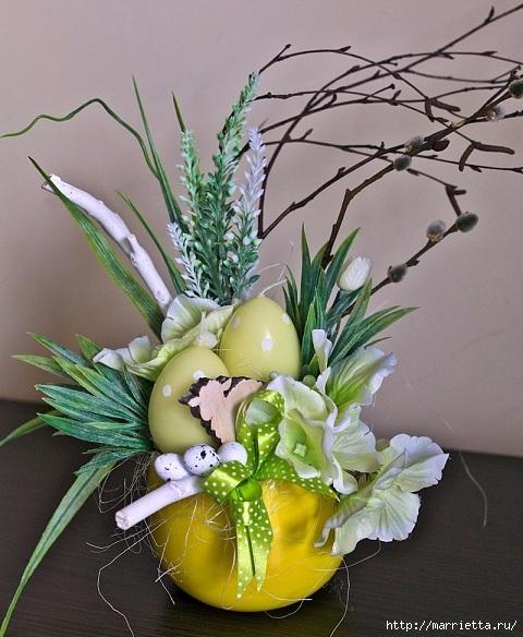 Пасхальный декор. Красивые идеи к празднику (3) (480x584, 207Kb)