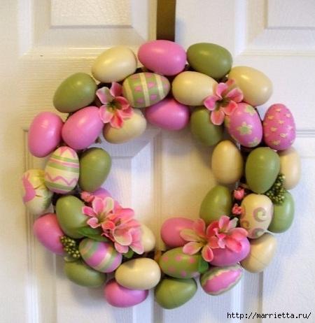Пасхальный декор. Красивые идеи к празднику (15) (450x462, 121Kb)