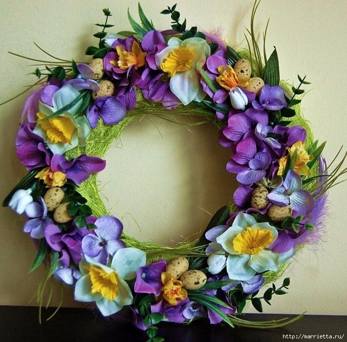 Пасхальный декор. Красивые идеи к празднику (19) (678x668, 362Kb)