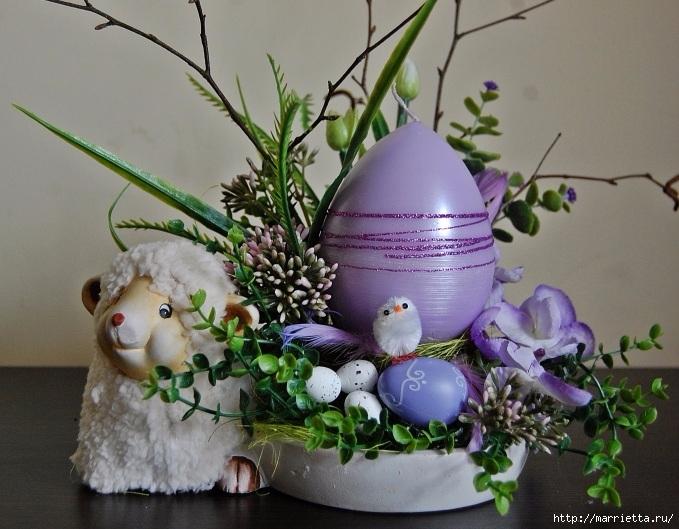 Пасхальный декор. Красивые идеи к празднику (27) (679x529, 243Kb)