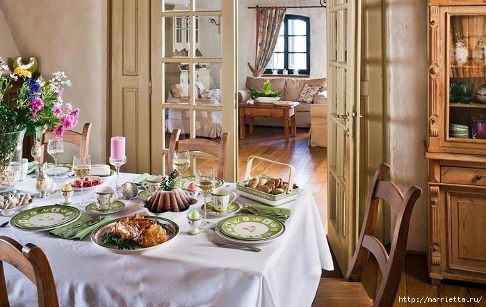 Пасхальный декор. Красивые идеи к празднику (31) (700x441, 270Kb)