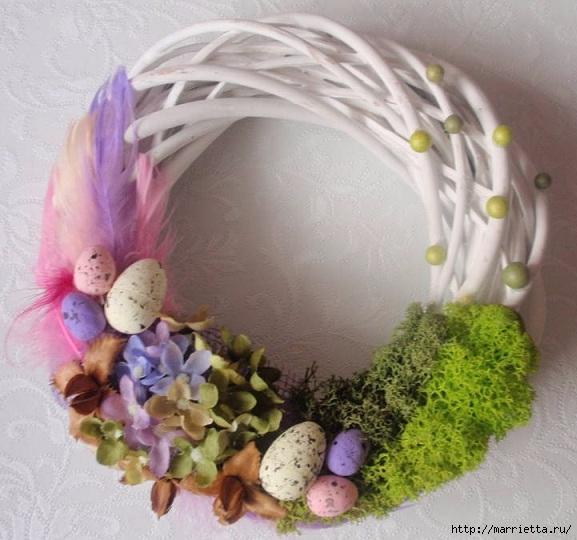 Пасхальный декор. Красивые идеи к празднику (43) (577x540, 184Kb)