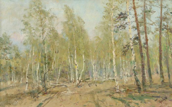 1. гусев 8 весенний лес  (700x436, 421Kb)
