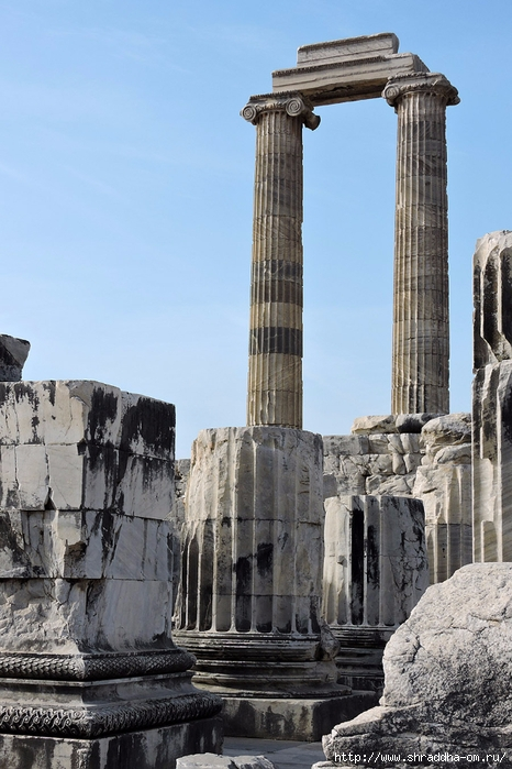 Shraddha_trаvel Турция 2016, Храм Апполона (15) (466x700, 267Kb)