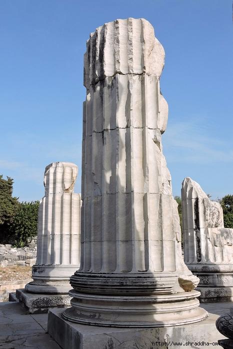 Shraddha_trаvel Турция 2016, Храм Апполона (17) (466x700, 253Kb)