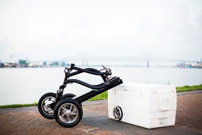 Kreweser - велосипед-холодильник!