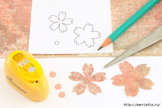 Цветы из бумаги в интерьере. Красивые идеи (2) (533x355, 97Kb)
