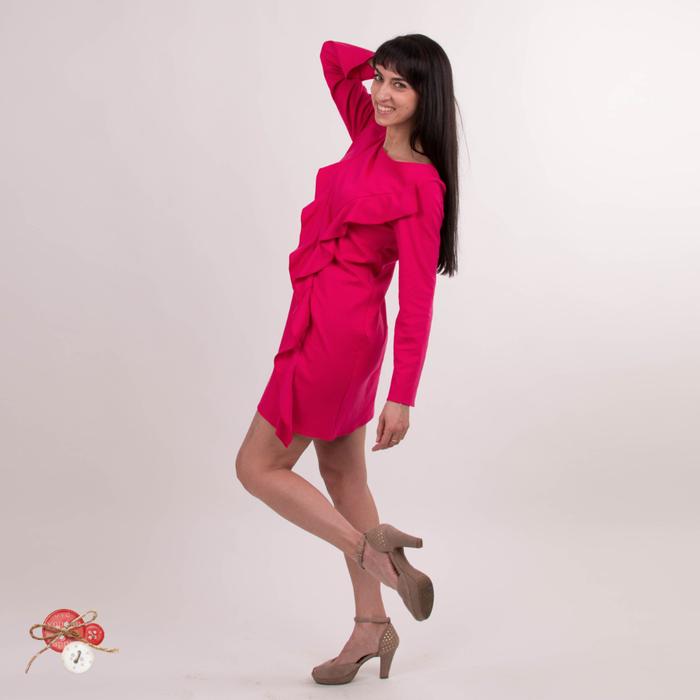 платье с воланами фуксия4 (700x700, 187Kb)