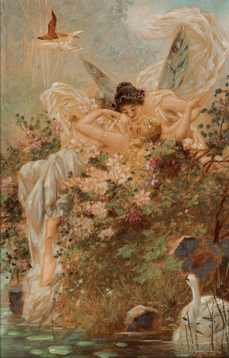 1317319700_two-fairies-embracing-in-a-landscape-with-a-swan-circa-1900_www.nevsepic.com.ua (448x700, 410Kb)