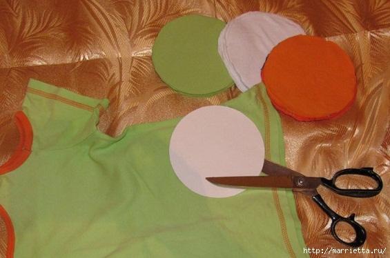 Старые футболки для создания детского коврика (2) (565x374, 133Kb)
