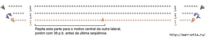 Коврик крючком из шести квадратных мотивов (4) (700x128, 61Kb)