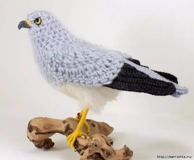 Птичий двор Jose Heroys. Вязаные птички, необыкновенной красоты (40) (660x546, 141Kb)