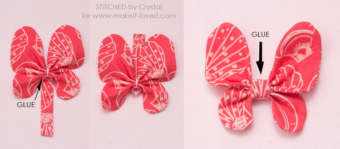 Бабочка из ткани МК 15 (700x306, 227Kb)